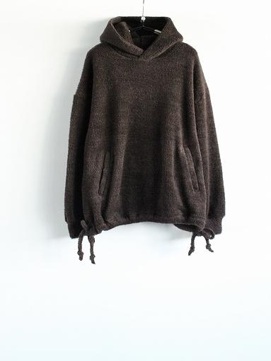 blurhms Wool Boa P/O Hoodie_b0139281_15121385.jpg