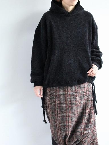 blurhms Wool Boa P/O Hoodie_b0139281_15121446.jpg