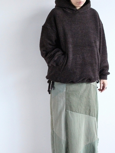 blurhms Wool Boa P/O Hoodie_b0139281_15121451.jpg