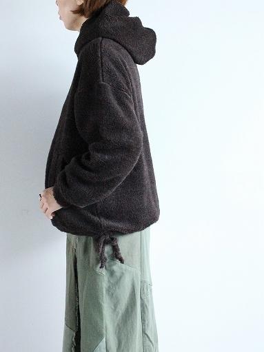 blurhms Wool Boa P/O Hoodie_b0139281_15121455.jpg