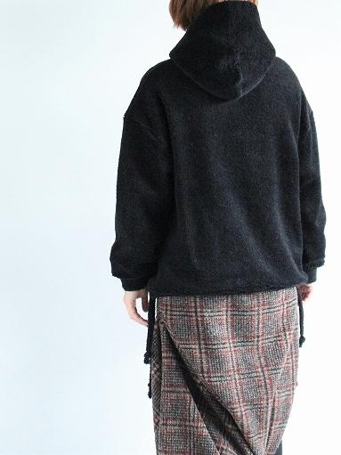 blurhms Wool Boa P/O Hoodie_b0139281_15140285.jpg