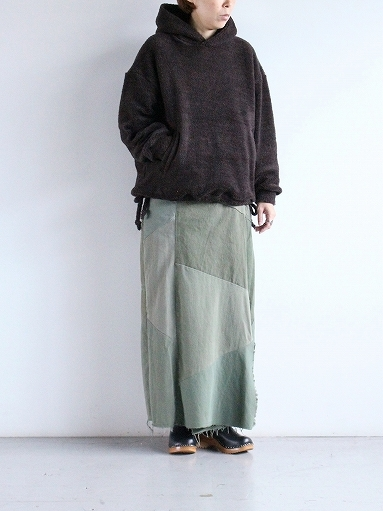blurhms Wool Boa P/O Hoodie_b0139281_15140298.jpg