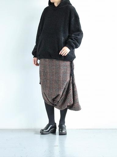 blurhms Wool Boa P/O Hoodie_b0139281_15140309.jpg