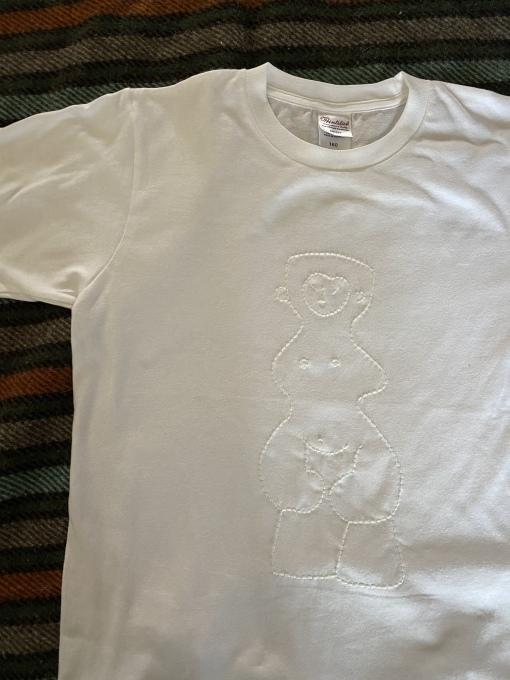 どぐうちゃんTシャツ、買えます 〜11/7土まで_e0269428_13025620.jpeg