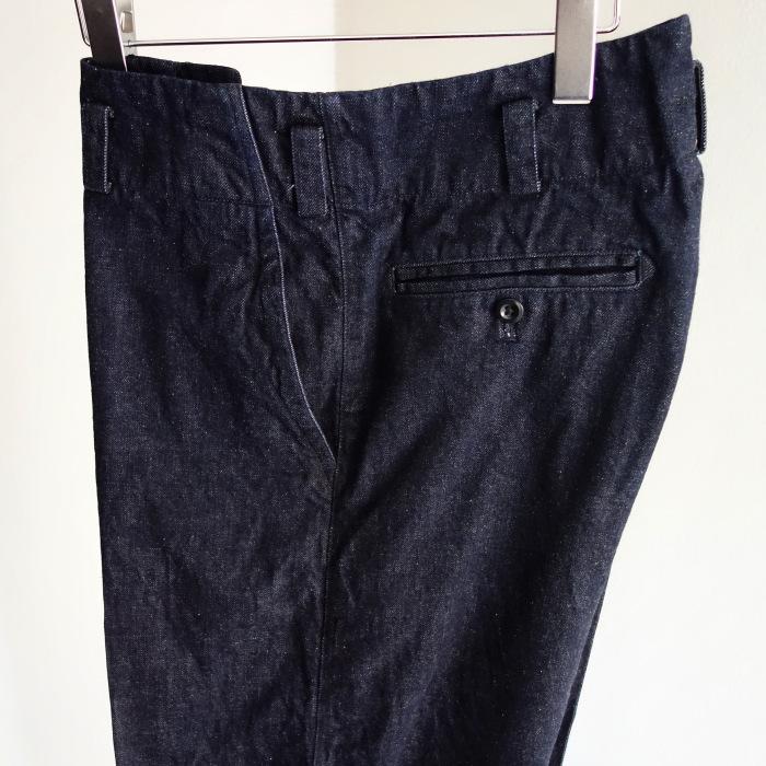 12月の製作 / classic wide denim trousers_e0130546_12282323.jpg