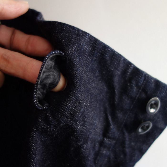 12月の製作 / classic wide denim trousers_e0130546_12295193.jpg