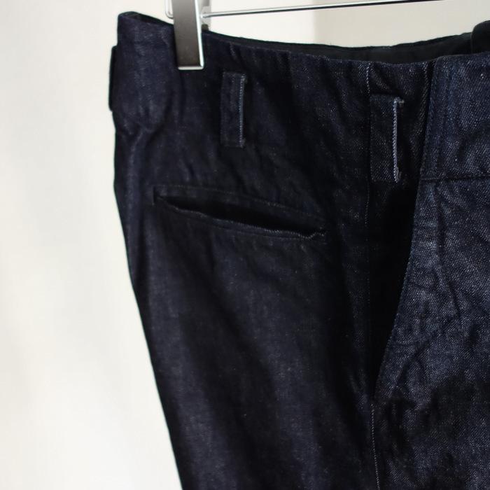 12月の製作 / classic wide denim trousers_e0130546_12305442.jpg