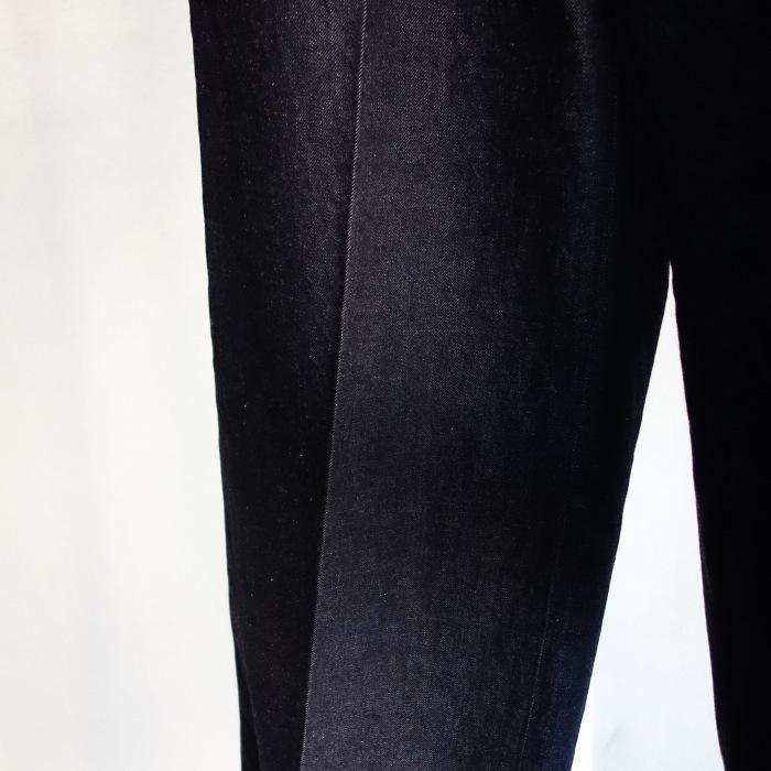 12月の製作 / classic wide denim trousers_e0130546_12311073.jpg