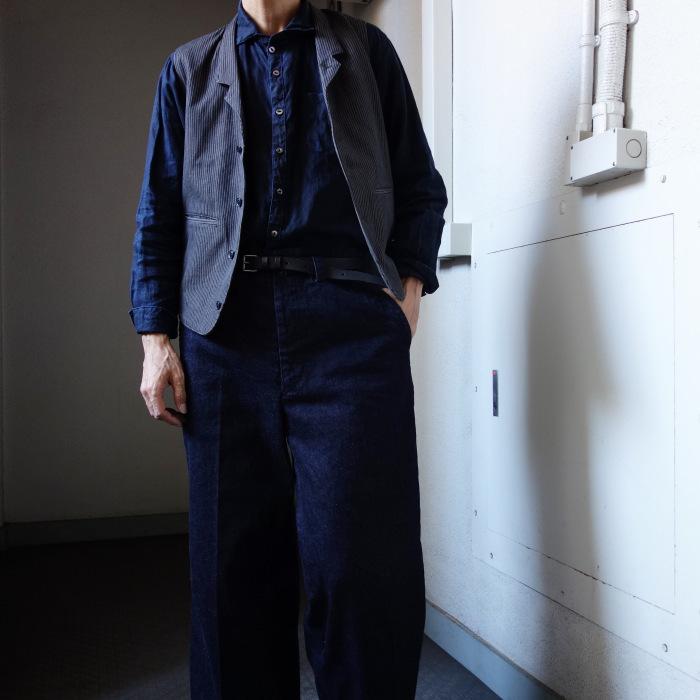 12月の製作 / classic wide denim trousers_e0130546_12392011.jpg