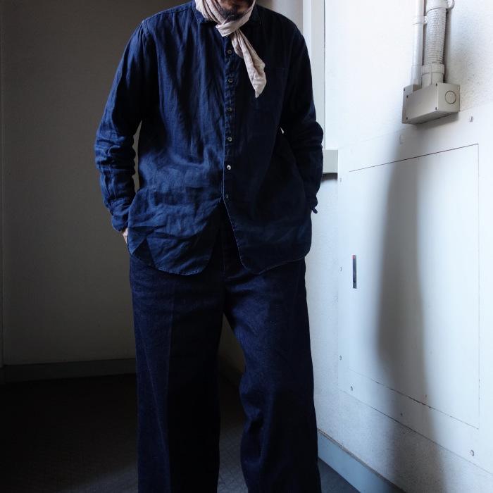 12月の製作 / classic wide denim trousers_e0130546_12400538.jpg