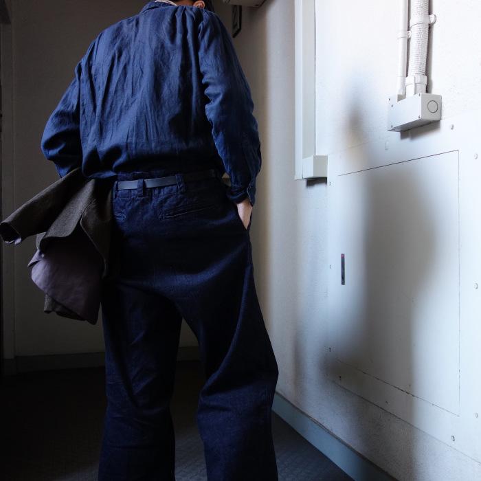 12月の製作 / classic wide denim trousers_e0130546_12402405.jpg