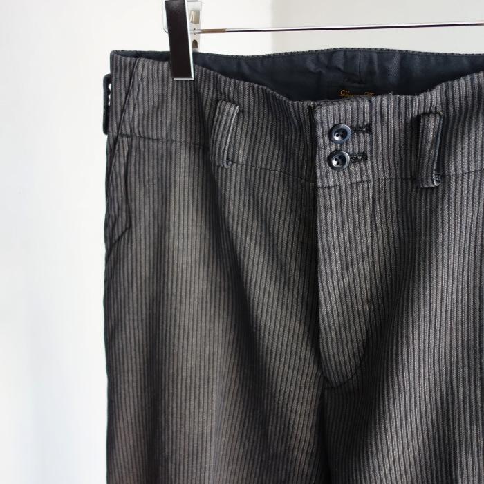 12月の製作 / classic wide stripe trousers / 別注品_e0130546_12484973.jpg
