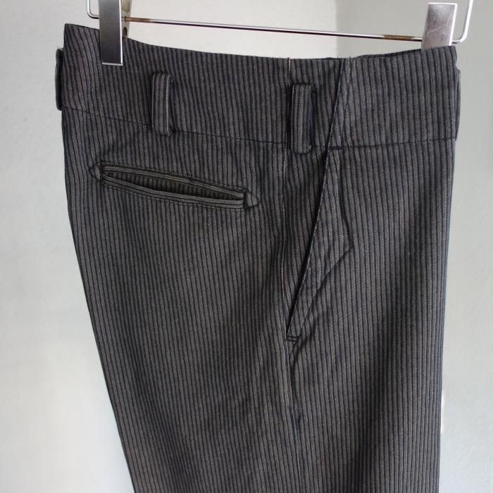 12月の製作 / classic wide stripe trousers / 別注品_e0130546_12490352.jpg