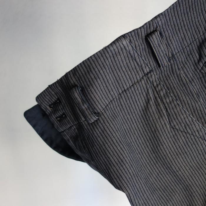 12月の製作 / classic wide stripe trousers / 別注品_e0130546_12493577.jpg