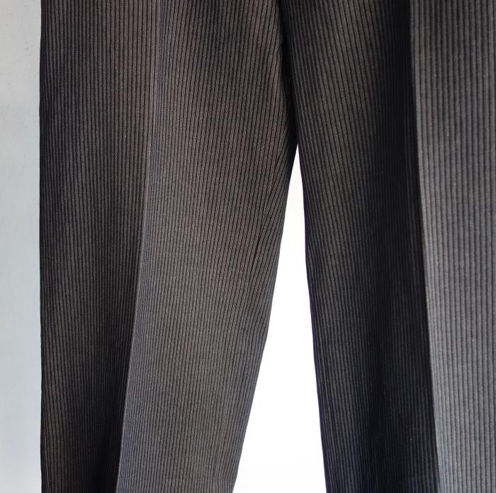 12月の製作 / classic wide stripe trousers / 別注品_e0130546_12503004.jpg