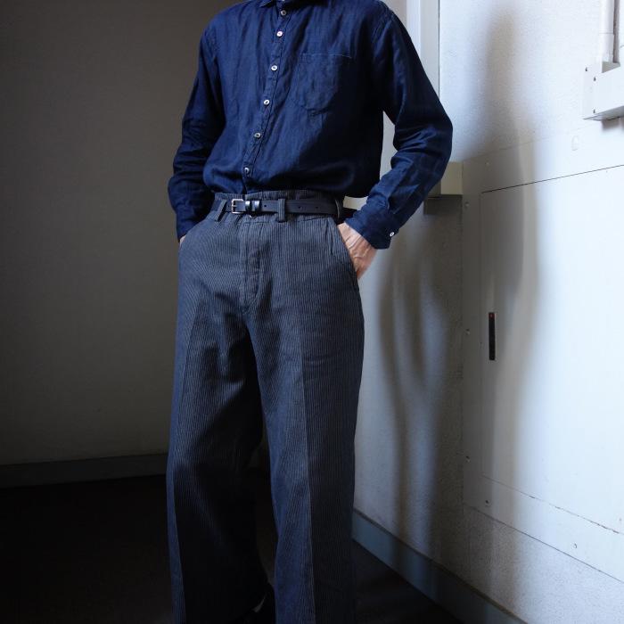 12月の製作 / classic wide stripe trousers / 別注品_e0130546_12524984.jpg