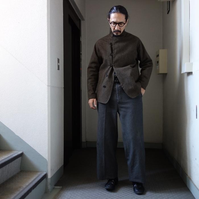 12月の製作 / classic wide stripe trousers / 別注品_e0130546_12530725.jpg