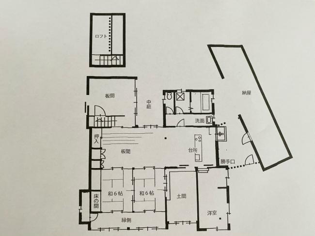 明治44年築の茅葺き屋根の贅沢な平屋です。_f0115152_15065366.jpg