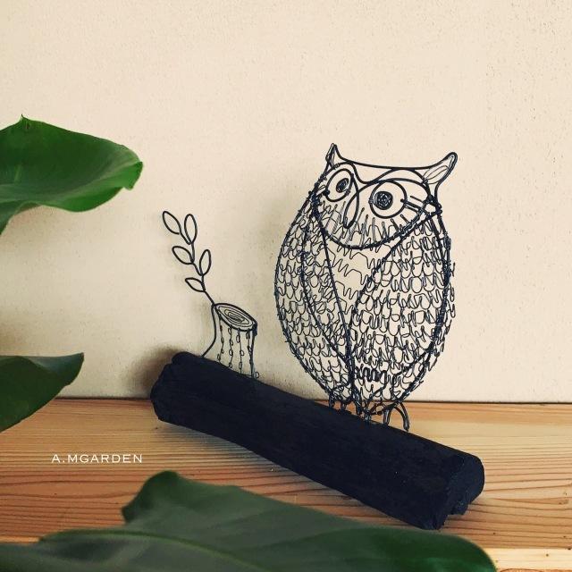 wire owl。_b0125443_14282262.jpeg