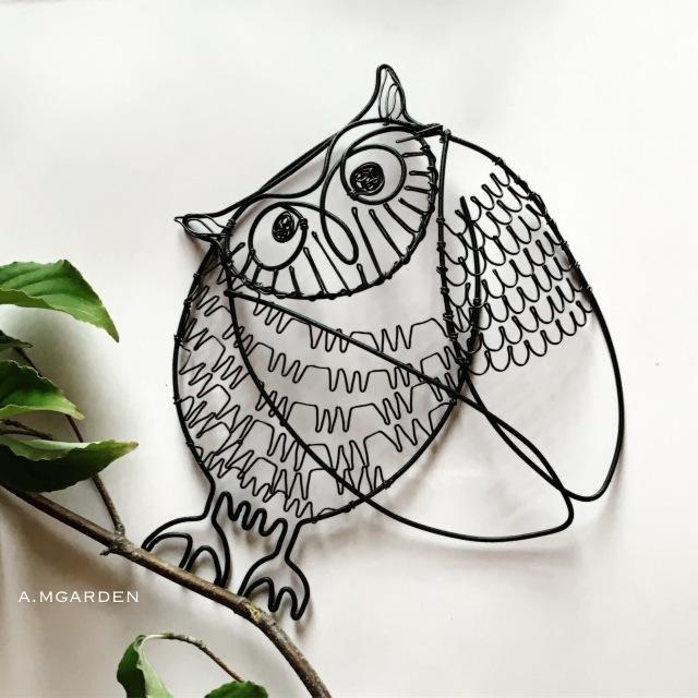 wire owl。_b0125443_14301836.jpeg