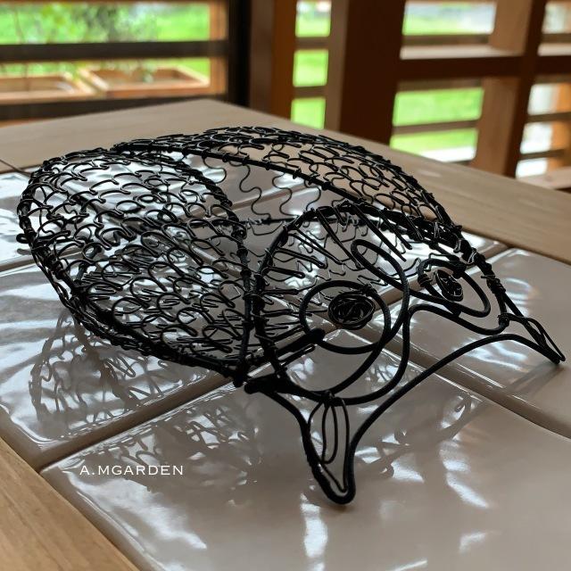 wire owl。_b0125443_14334913.jpeg