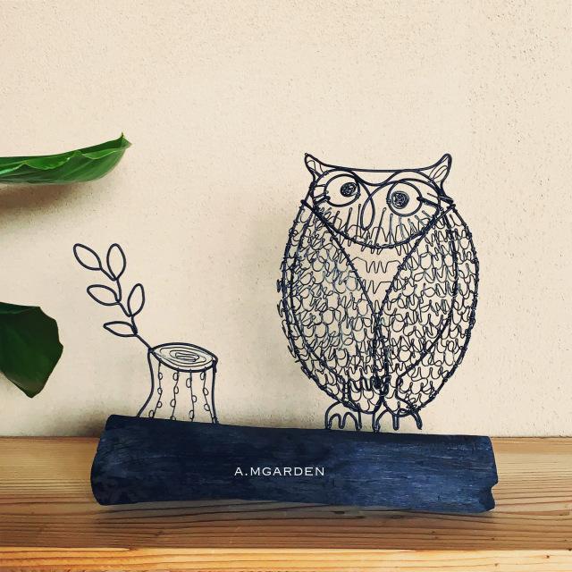 wire owl。_b0125443_14371763.jpeg