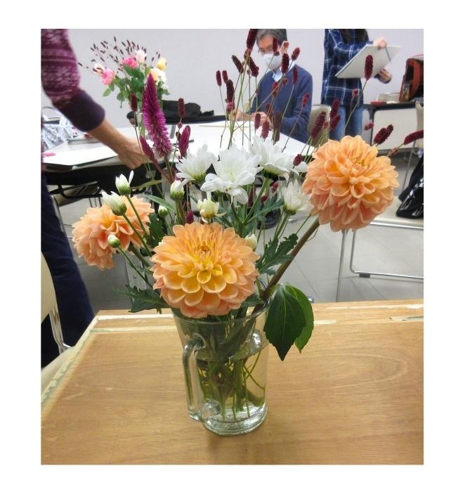 水彩教室「花々を描く」_f0006171_19313475.jpg