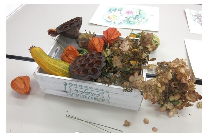 水彩教室「花々を描く」_f0006171_19323464.jpg