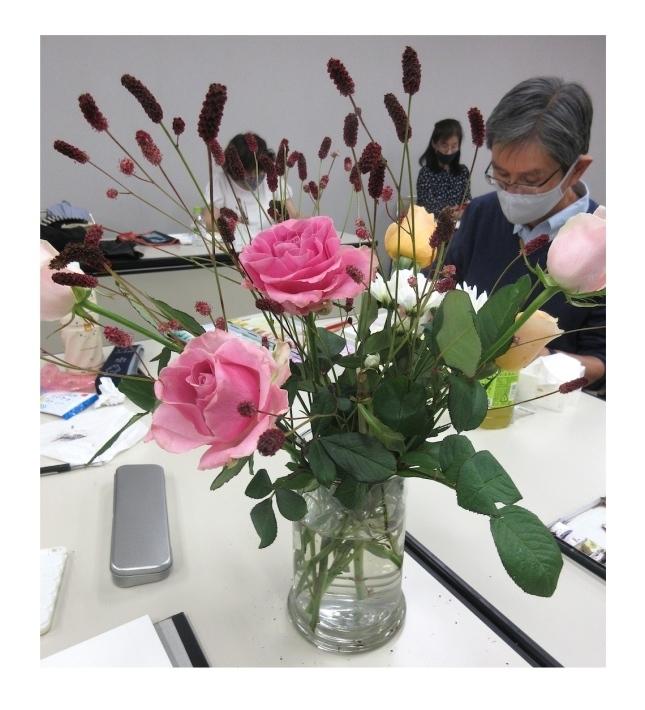 水彩教室「花々を描く」_f0006171_19325458.jpg