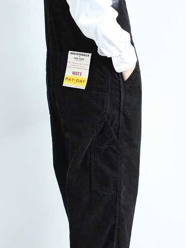 PAYDAY × WEST\'S CORDUROY OVERALL_b0139281_22215703.jpg