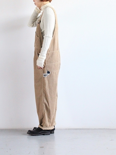 PAYDAY × WEST\'S CORDUROY OVERALL_b0139281_22215767.jpg