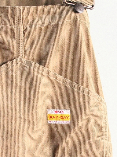 PAYDAY × WEST\'S CORDUROY OVERALL_b0139281_22234157.jpg