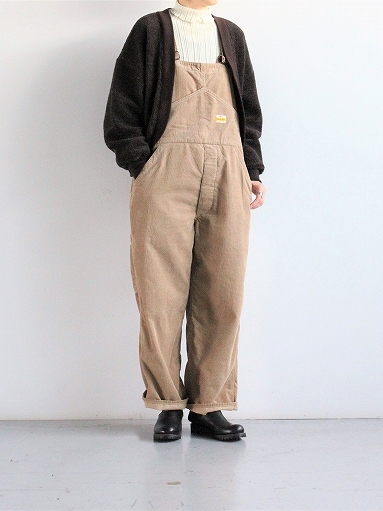 PAYDAY × WEST\'S CORDUROY OVERALL_b0139281_22234209.jpg