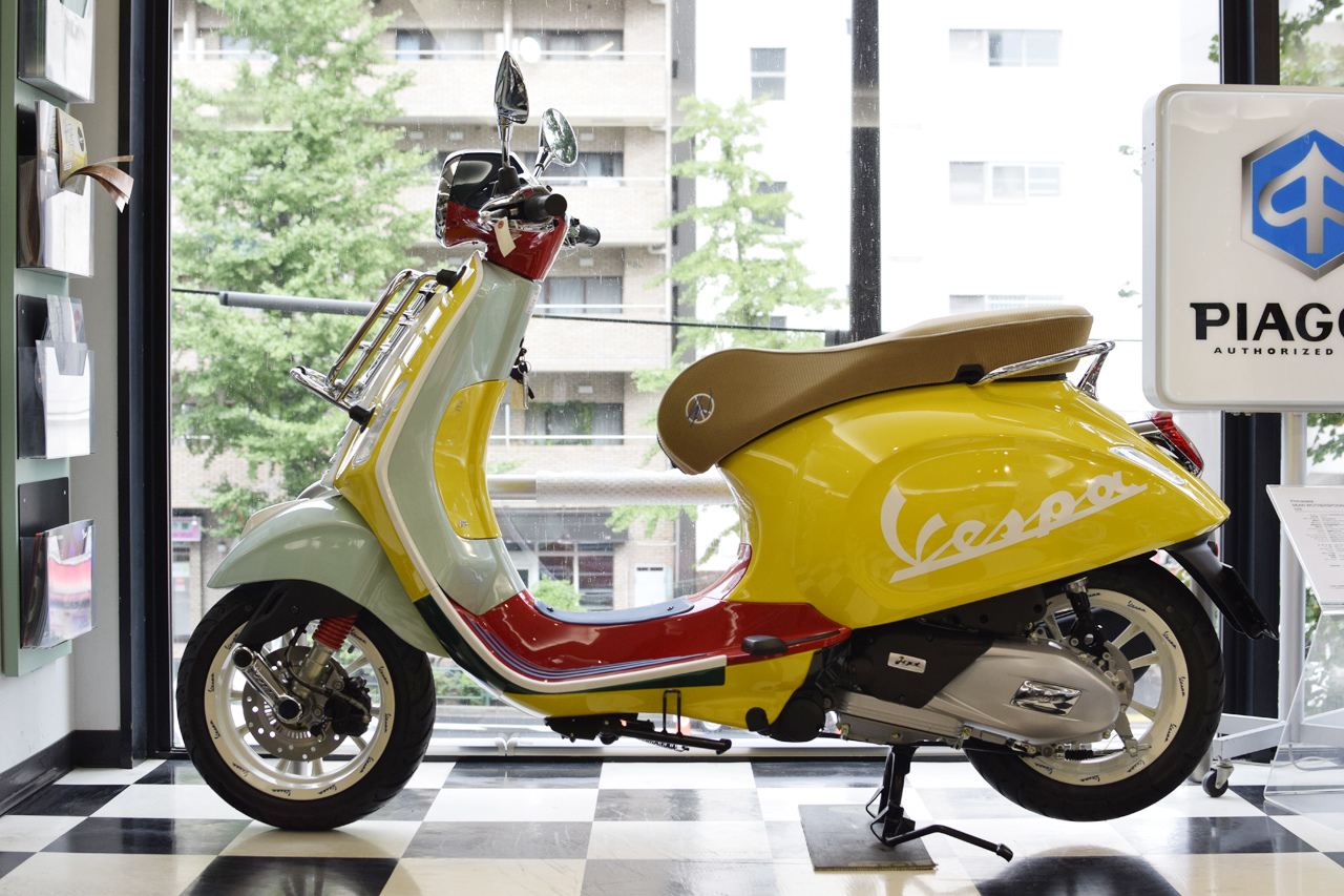 Vespa Primavera 125 SEAN WOTHERSPOON(ベスパ プリマベーラ ショーン ワザースプーン)Special Edition_d0099181_15294506.jpg
