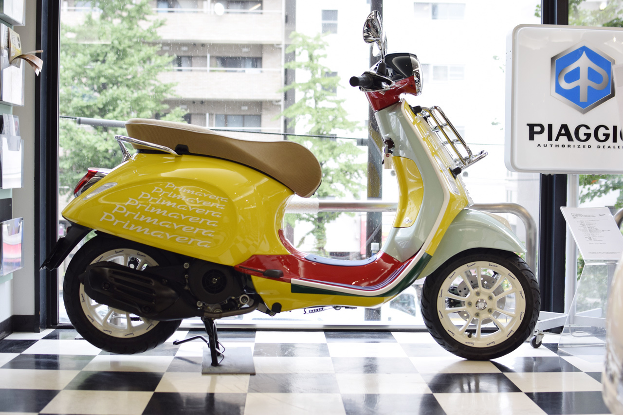 Vespa Primavera 125 SEAN WOTHERSPOON(ベスパ プリマベーラ ショーン ワザースプーン)Special Edition_d0099181_15294520.jpg