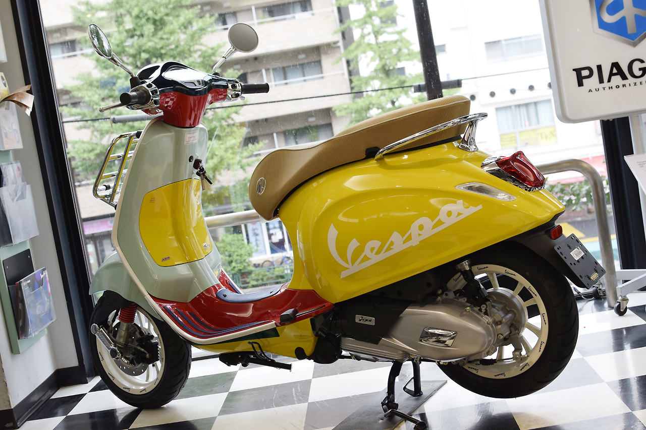 Vespa Primavera 125 SEAN WOTHERSPOON(ベスパ プリマベーラ ショーン ワザースプーン)Special Edition_d0099181_15295476.jpg