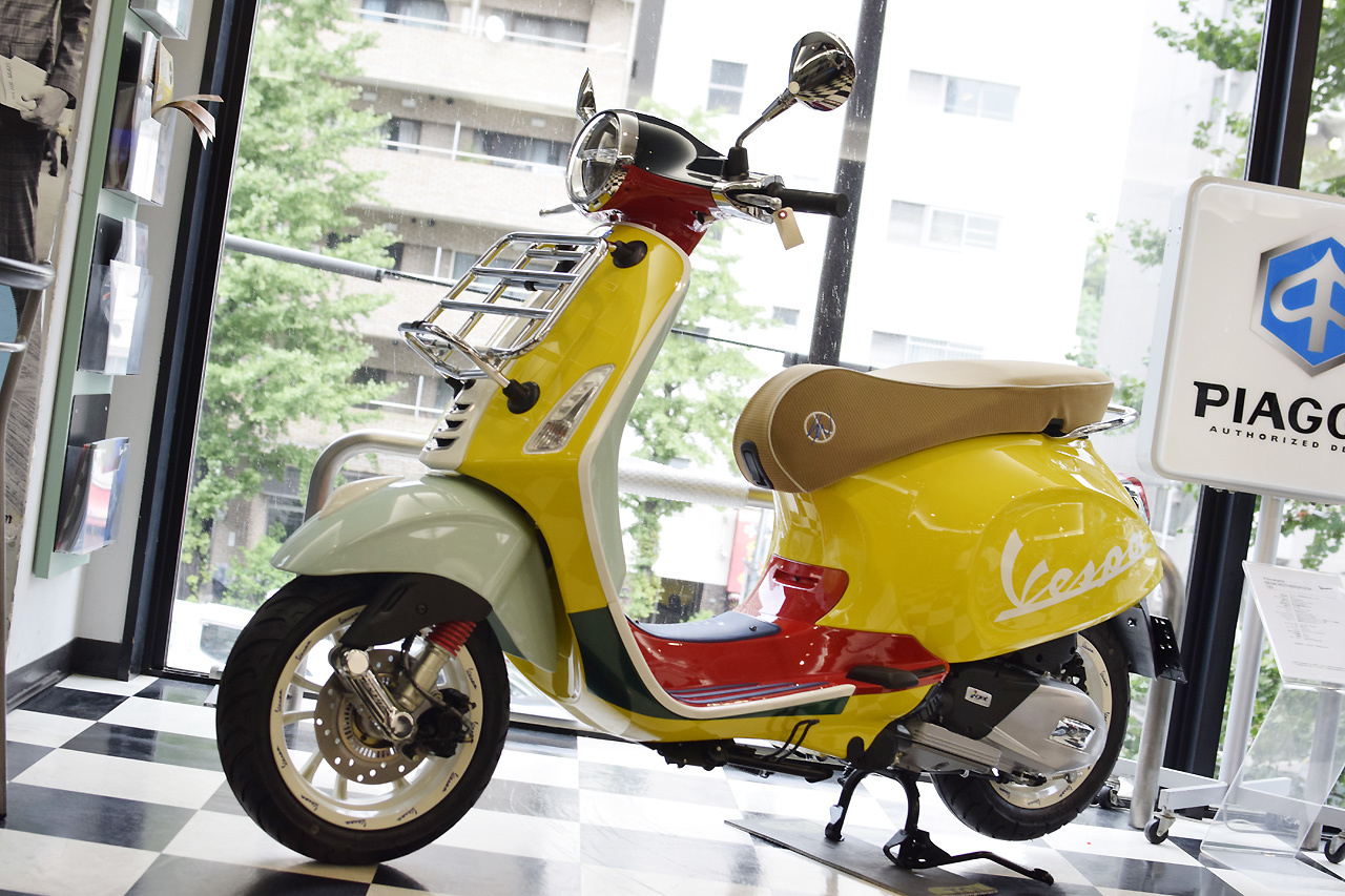 Vespa Primavera 125 SEAN WOTHERSPOON(ベスパ プリマベーラ ショーン ワザースプーン)Special Edition_d0099181_15295496.jpg