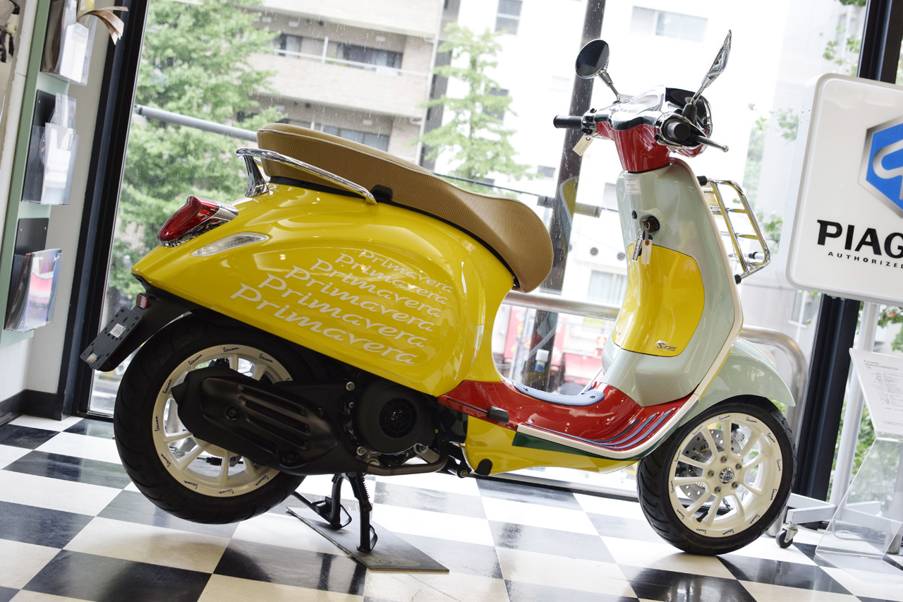 Vespa Primavera 125 SEAN WOTHERSPOON(ベスパ プリマベーラ ショーン ワザースプーン)Special Edition_d0099181_15300213.jpg