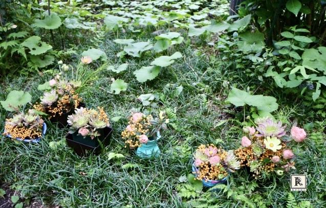できたての「小さな花器」にさっそくこどもたちとお花をいけてみました!_c0128489_17261575.jpeg