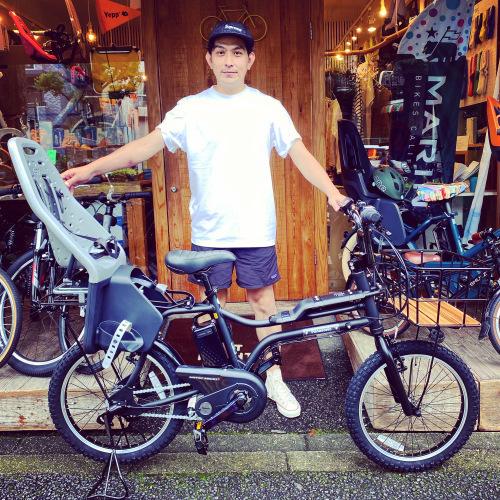 EZ! パナソニックez 電動自転車特集『バイシクルファミリー』Yepp ビッケ ステップクルーズ 電動自転車 おしゃれ自転車 チャイルドシート bobikeone BEAMS bp02 イーゼット_b0212032_17222831.jpeg