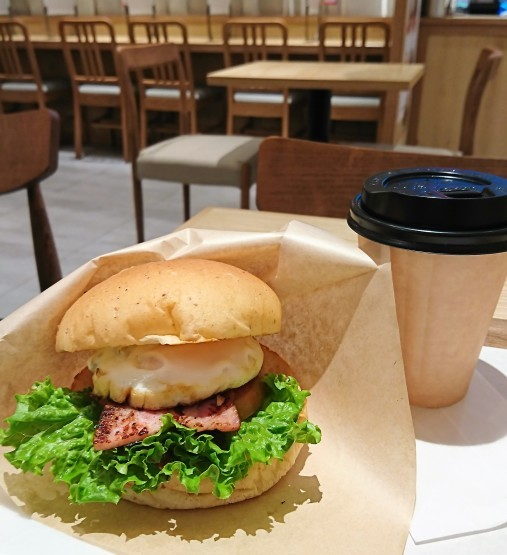 今日も美味しかった!3rd Burger でモーニング@虎ノ門ヒルズ_f0337357_20155660.jpg