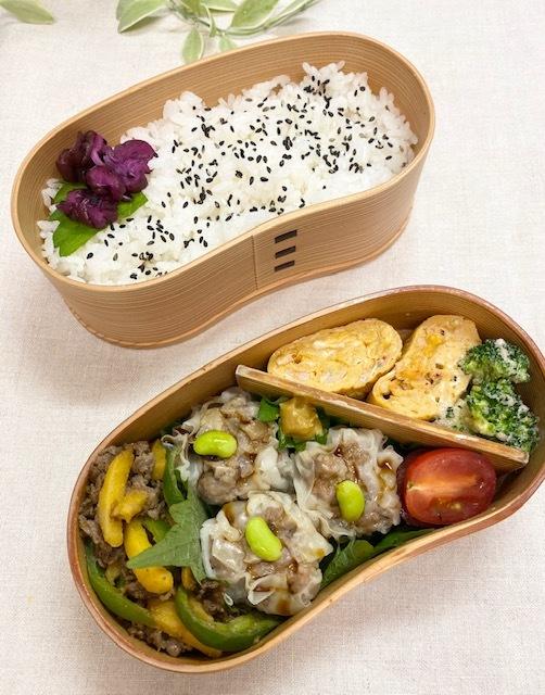lunch box ×3 きのこ類♪_a0165160_15205340.jpg