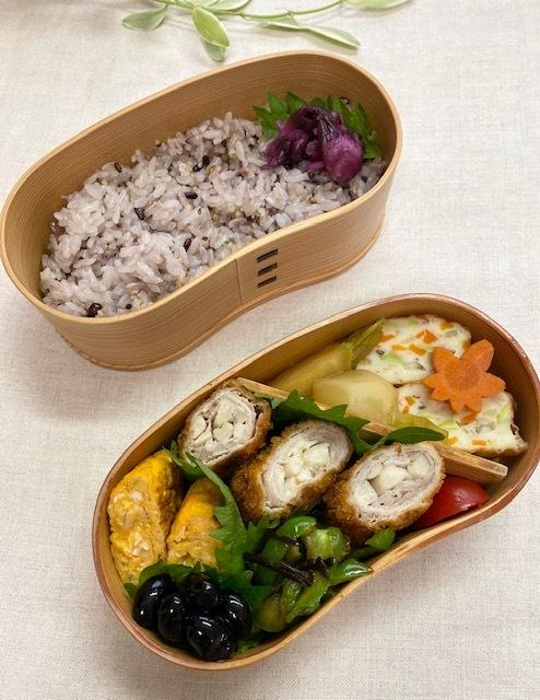 lunch box ×3 きのこ類♪_a0165160_15225632.jpg