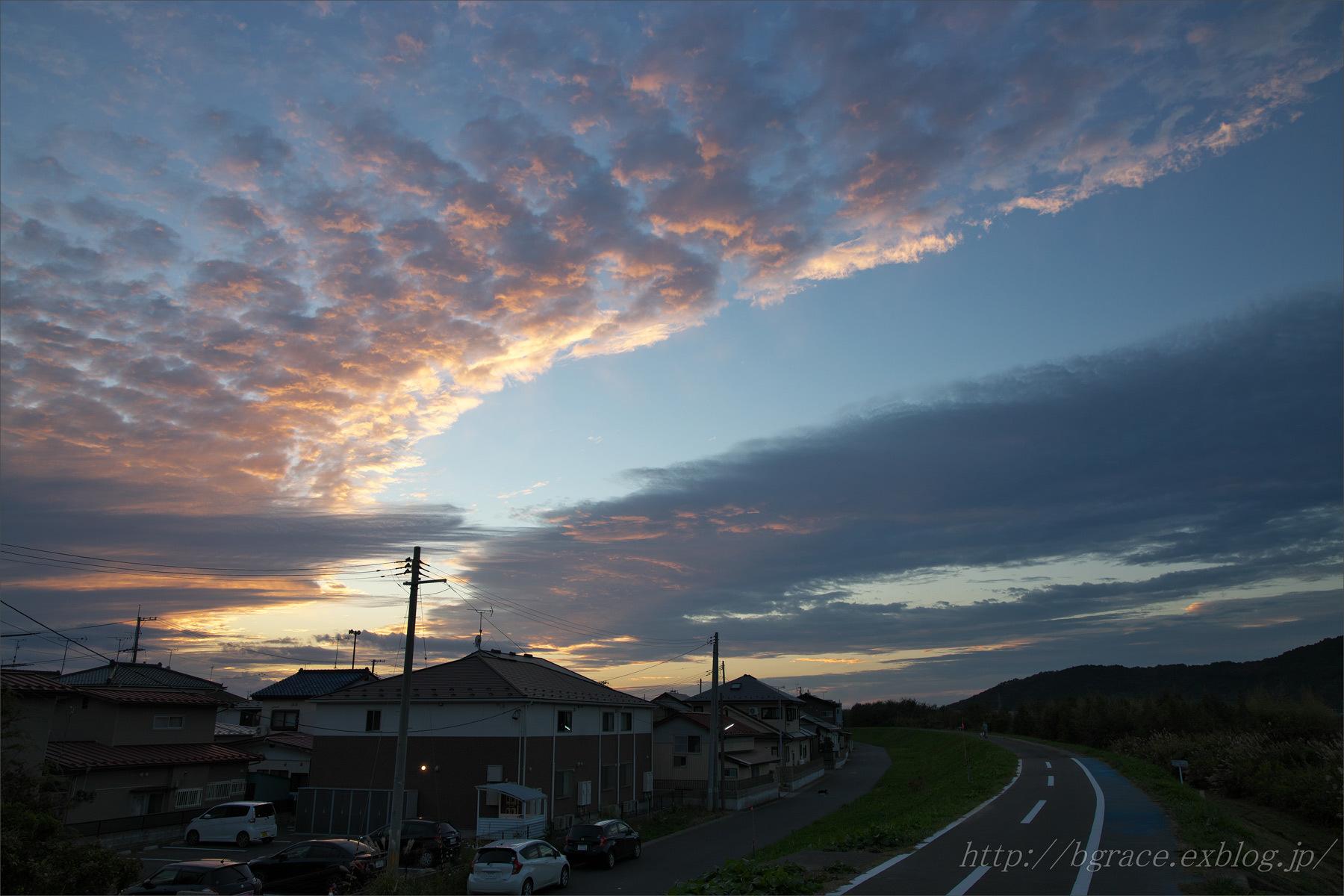 夕焼け空_b0191074_17263864.jpg