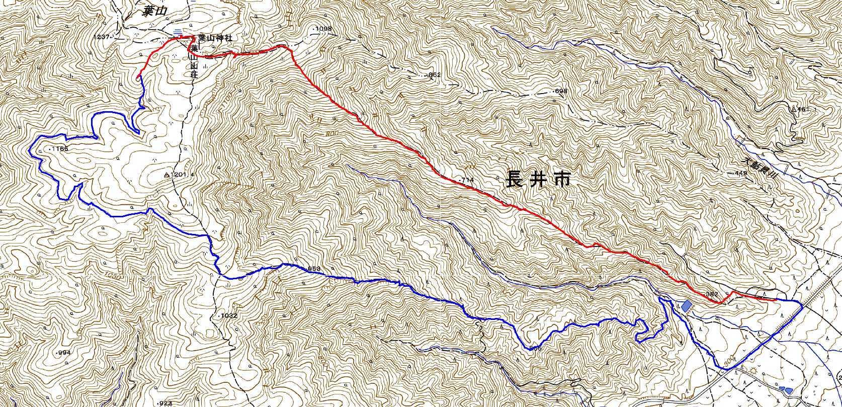 長井葉山・白兎コースから昭和堰の周回 ~ 2020年10月14日_f0170180_13024328.jpg