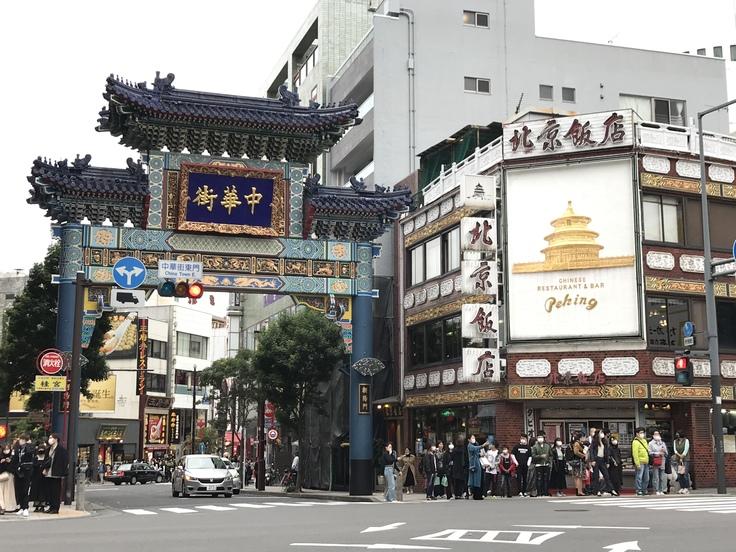 YOKOHAMAの夕方と北京飯店♪_c0212604_23582842.jpg