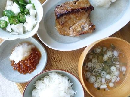 焼き魚定食_b0198109_15252469.jpg