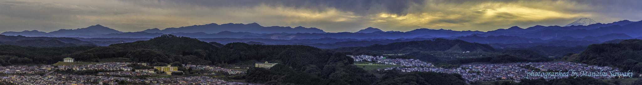 夕暮の日和田山へ_b0010915_21555036.jpg