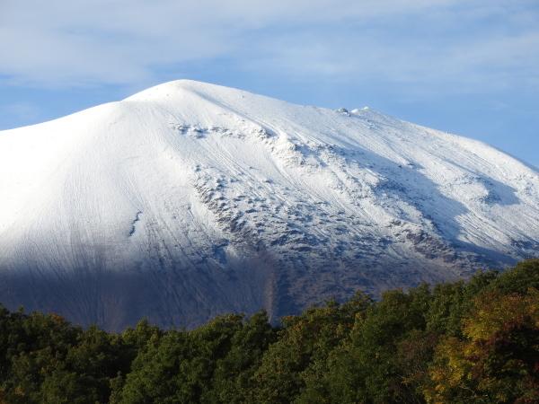 浅間山初冠雪&初霜(2020年10月18日)_b0174425_17485461.jpg