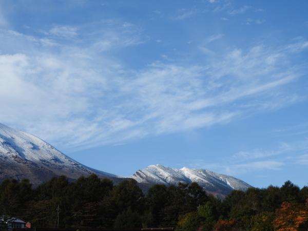 浅間山初冠雪&初霜(2020年10月18日)_b0174425_17530873.jpg